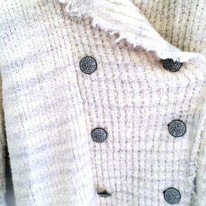 Free People Oversized Knit Cardigan